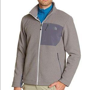 North Face Gray Chimborazo Full Zip Jacket